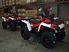 Kırmızı Bombardier (Can-Am) ATV