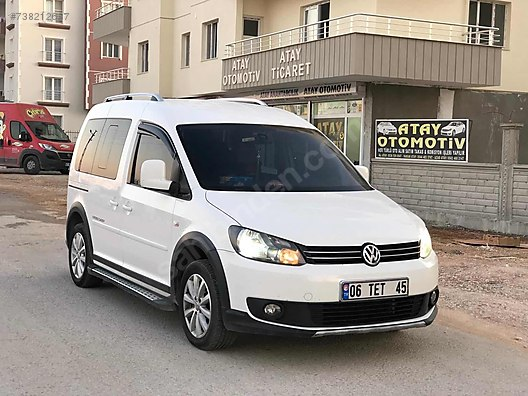 Beyaz Caddy 1.6 TDI Cross