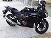 Siyah Honda CB 250 R Manuel