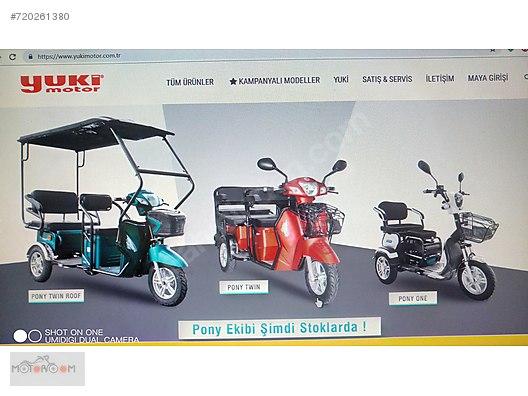 Vasıta / Elektrikli Araçlar / Elektrikli Motosiklet / Yuki / Pony Twin