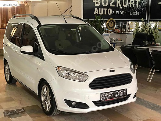Vasıta / Minivan & Panelvan / Ford / Tourneo Courier / 1.6 TDCi Titanium