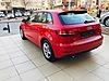 Kırmızı Audi A3 Yarı Otomatik