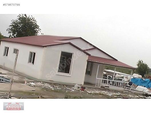 akdost prefabrik celik gercek evler betopan prefabrik