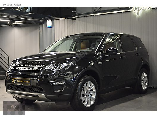 Land Rover Discovery Sport >> 2016 Land Rover Discovery Sport 2 0 Td4 348 750 Tl Galeriden Satilik