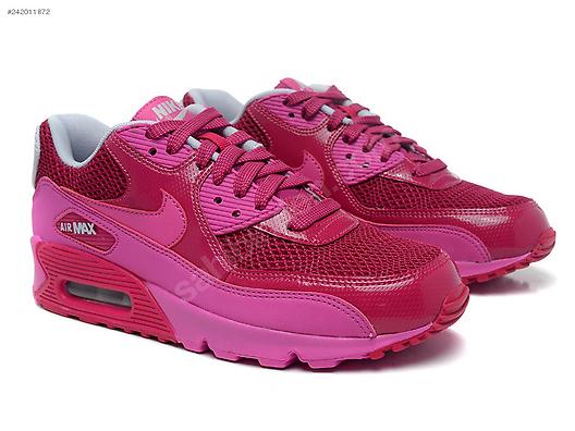 08054424f3b2 İkinci El ve Sıfır Alışveriş   Giyim   Aksesuar   Kadın   Ayakkabı   Spor NIKE  AIR MAX 90 WOMENS RASPBERRY RED CLUB PINK 325213 609 ...