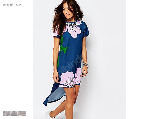 1459a1cd adidas originals floral graphic long dress marin green az6321