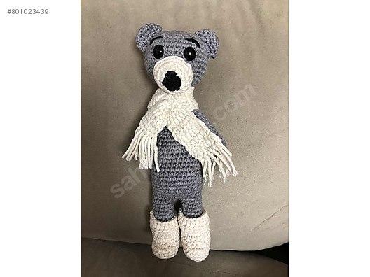 Amigurumi Crochet Teddy Bear (Sevimli Ayı) Pattern Yapılışı | 396x528