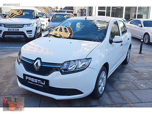 Prestij Motors 2015 Renault Symbol 1 5 Dci 90bg Joy
