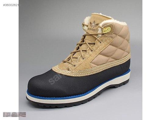 adidas adi navvy black light bone quilt fur boots g60557 55d2b9b2ab6