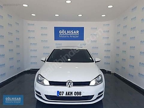GÖLHİSAR'dan 2016 VW GOLF 1.6 TDI Bluemotion COMFORTLİNE...