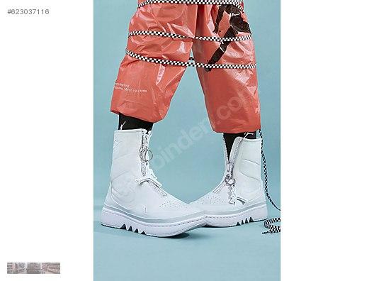 quality design 2519a 6c0f9 NIKE WOMEN AJ1 AIR JORDAN 1 JESTER XX OFF WHITE BOOTS AO1265 100
