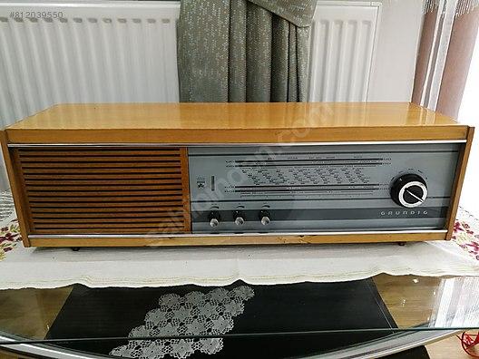 ANTİKA GRUNDIG RADYO - Antika Antika Radyo ve Çeşitli Antika ...
