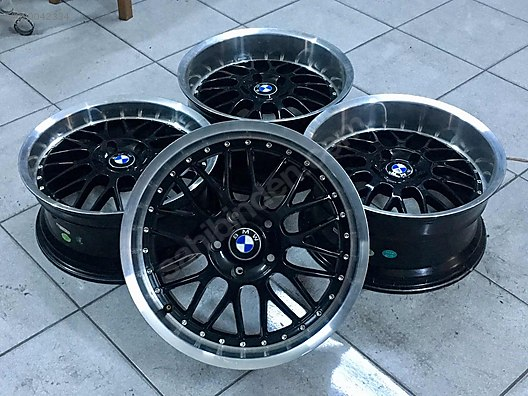18 Bmw Bbs Lm Lm R Jant Takimi Pi Ano Black 5x120 E34 E39 E46 E90