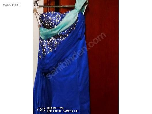 ef9410cc336f0 ACİL SATILIK MAVİ TURKUAZ RENKLİ TAŞLI ABİYE 38 BEDEN ELBİSE - Nişanlık ve Evlilik  Giyim İhtiyaçlarınız sahibinden.com'da - 229044861