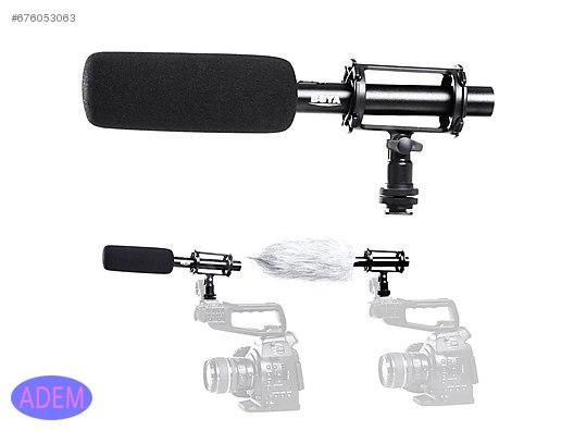 Microphone Boya By Pvm1000 Dslr Mikrofonu Fotograf Makinesi