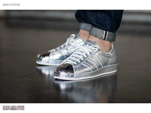 innovative design 730dc b423c adidas originals superstar 80s metallic silver pack s82741