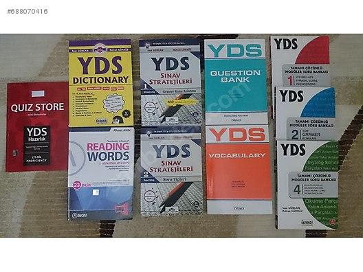 Yds Hazırlık Kitapları Toplu Kitap Ve Dergi Satışları Sahibinden