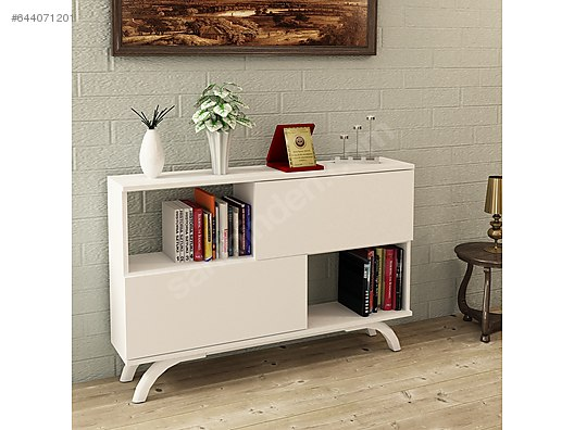 Bookshelf Konsol Kitaplik Vst At Sahibinden Com 644071201