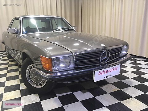 ÖZHAMURKAR-1978 MODEL KLASİK MERCEDES 450 SLC