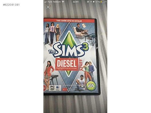 The Sims 3 Diesel Stuff Pack - İlan ve alışverişte ilk adres