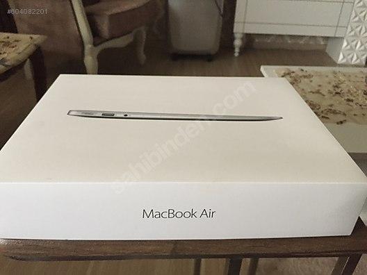 Apple Macbook Mac Book Air Mart 2018 Cikisli Sifir Vatandan 2 Yil