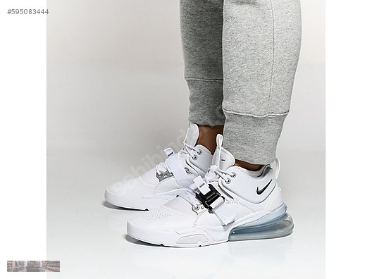246736f49fa Athletic   Outdoor   NIKE AIR FORCE 270 WHITE METALLIC SILVER ...