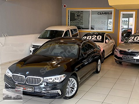 2017 BMW 520i LUXURY LİNE+NEXT100+KÖR NOKTA+Ş.TAKİP+KABLOSUZ...