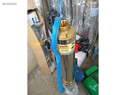 dalgic pompa 3 hp 170 metre den su