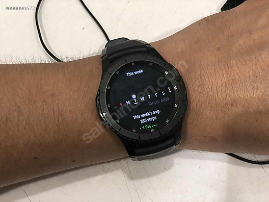 Samsung Galaxy Gear S3 Frontier (Android ve iPhone Uyumlu) at