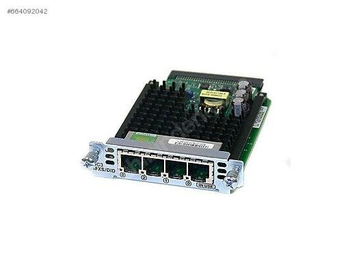 Cisco 4-Port FXS/DID Voice Interface Cards at sahibinden