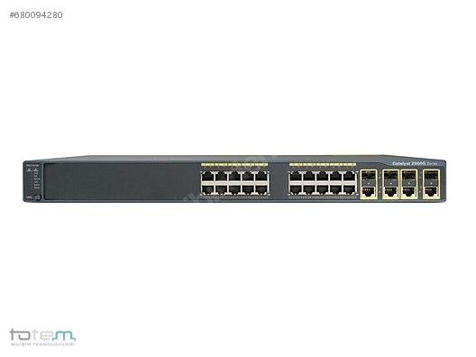 CISCO WS-C2960G-24TC-L CATALYST 2960 24 10/100/1000, 4 T/SFP LAN
