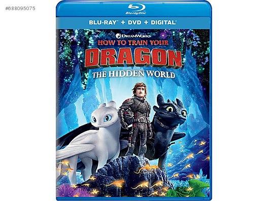 How To Train Your Dragon The Hidden World 2019 Blu Ray Yabancı