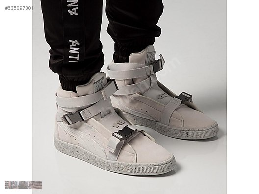 7a41b916e84 Casual Shoes   PUMA X THE WEEKND SUEDE 50TH MILITARY SNEAKER BOOST 366310  02 at sahibinden.com - 635097301