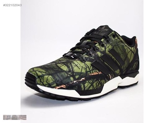 1656fe017c0d2 adidas originals zx flux black carbon deep forest b34139