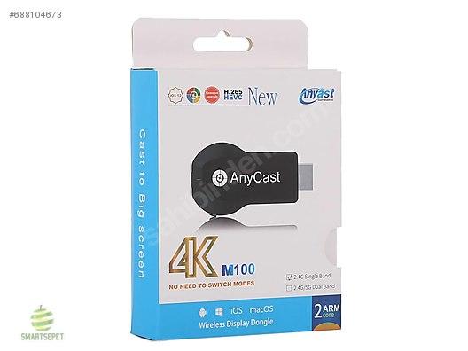 AnyCast M100-4 K-Wifi Ekran TV Dongle,Görüntü Aktarıcı Hdmı at