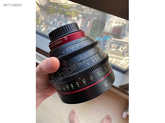 Lenses Canon Cn E 85mm T1 3 L F Cine Lens At Sahibinden Com 871106853