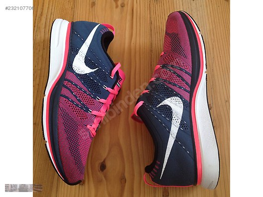 299243b647a7 nike flyknit trainer squadron blue white pink flash 532984 416