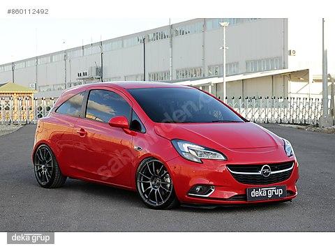2015 Opel Corsa E 1.0 Turbo Sport 52.000 KM