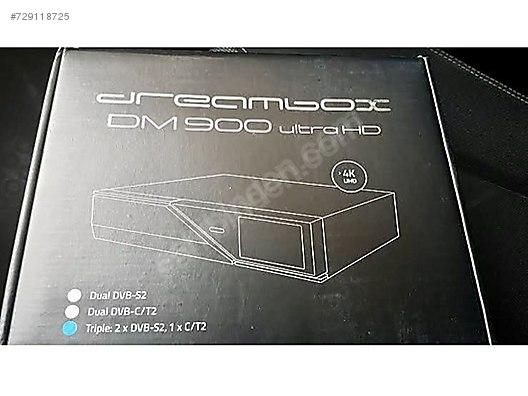 4K DREAMBOX DM 900 HD UYDU ALICISI at sahibinden com