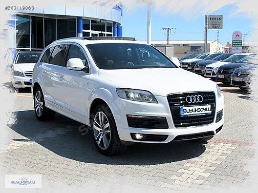 Audi Suv Q7 >> 2010 Audi Q7 3 0 Tdi Quattro 192 000 Tl Galeriden Satilik Ikinci El