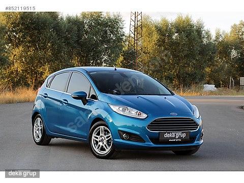 2013 Ford Fiesta 1.5 TDCI Titanium X -Sony Paket...