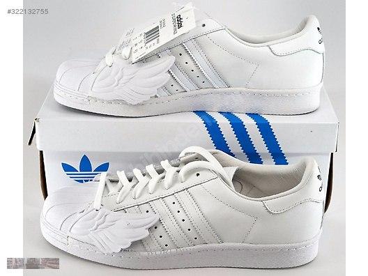 02de16aa88c1 Adidas Originals Jeremy Scott Superstar Wings White B26282