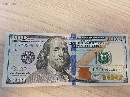 North America / Angel Number 4444 serisi 100 Dolar 2009A serisi LF