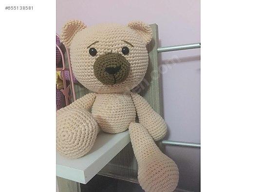Örgü Ayıcık Yapılışı Anlatımlı | Crochet teddy bear pattern ... | 396x528