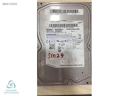 SAMSUNG 500 gb HD502IJ S13TJ1KQ5 (DONÖR DİSK) - Alışveriş :: Sıfır
