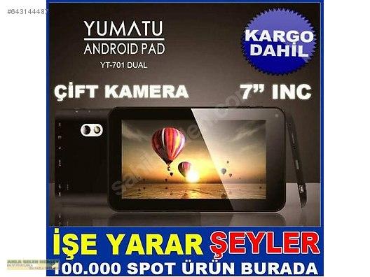 Yt 701 Dual Yumatu 7inc Çİft Kamerali Tablet Kd