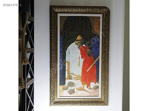 Kaplumbaga Terbiyecisi Yagli Boya Tablo At Sahibinden Com 796147619