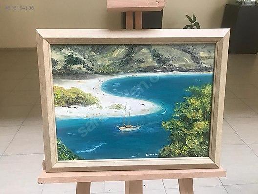 Deniz Manzaralı Yağlı Boya Tablo At Sahibindencom 616154186
