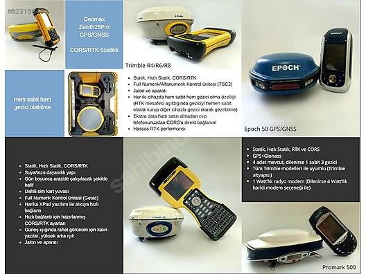 Trimble Topcon Geomax GPS Satış-Kiralama Hizmetleri at