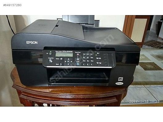 Printers / EPSON Stylus Office BX305F Yazıcı Hatası uyarısı